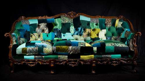 Eclectically Recycled Furniture