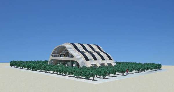 Solar Vineyard House Concepts