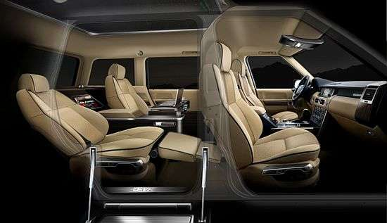 Jet-Inspired Luxury SUVs