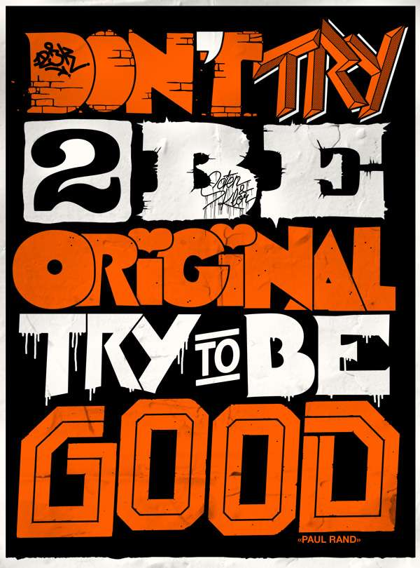 Typographic Design Mantras
