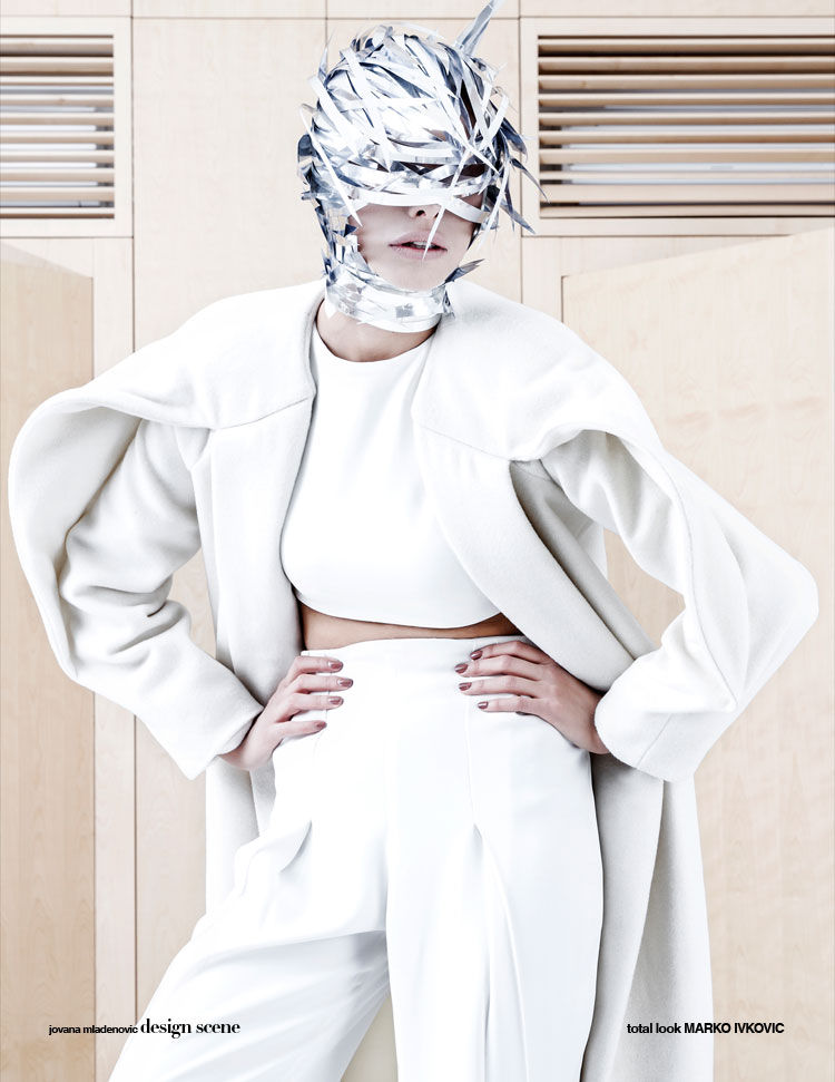 Masked Cyborg Editorials
