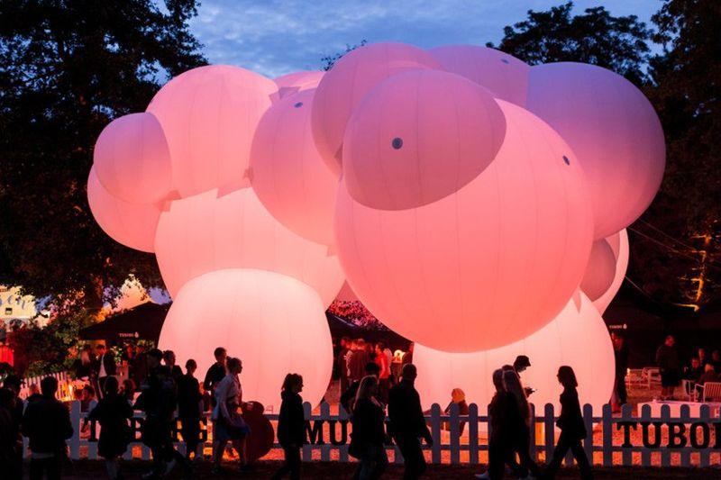 Inflatable Bubble Pavilions
