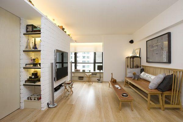 Sliding Space-Saving Apartments
