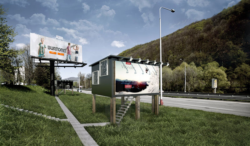 House-Converted Billboards
