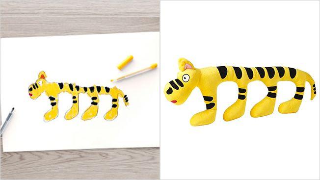Kid-Designed Stuffed Toys