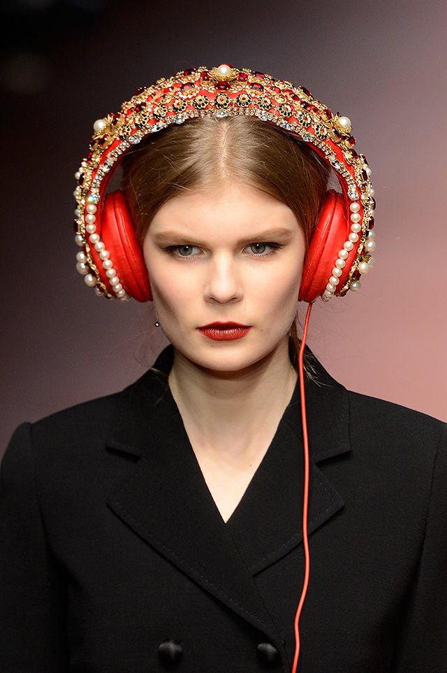 Embellished Designer Headphones