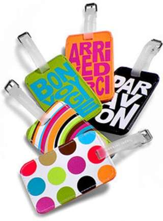 Designer Luggage Tags by Tepper Jackson
