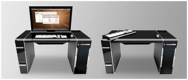 PC Integrated Desks