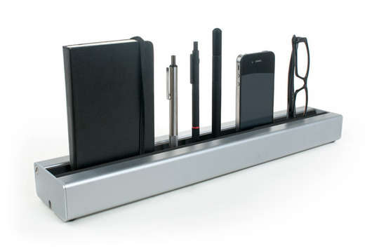 Sleek Slot Workstation Storage
