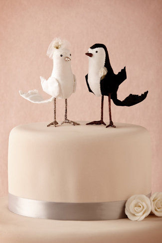 Avian Cake Toppers : Dessert Accessories