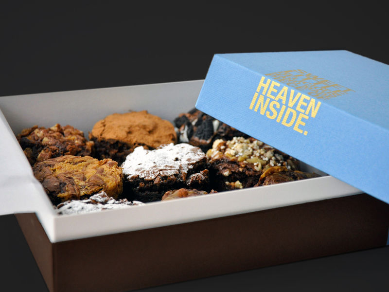 Decadent Brownie Boxes