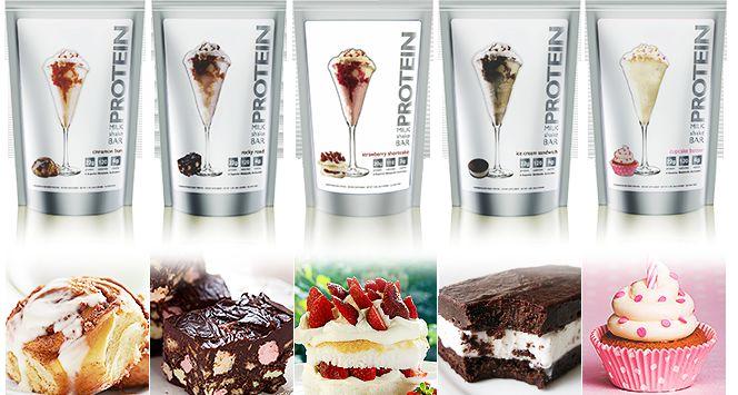 Healthy Dessert Milkshakes