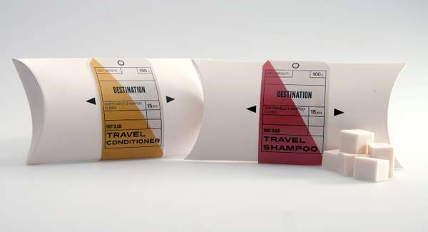 Destination Shampoo Packaging
