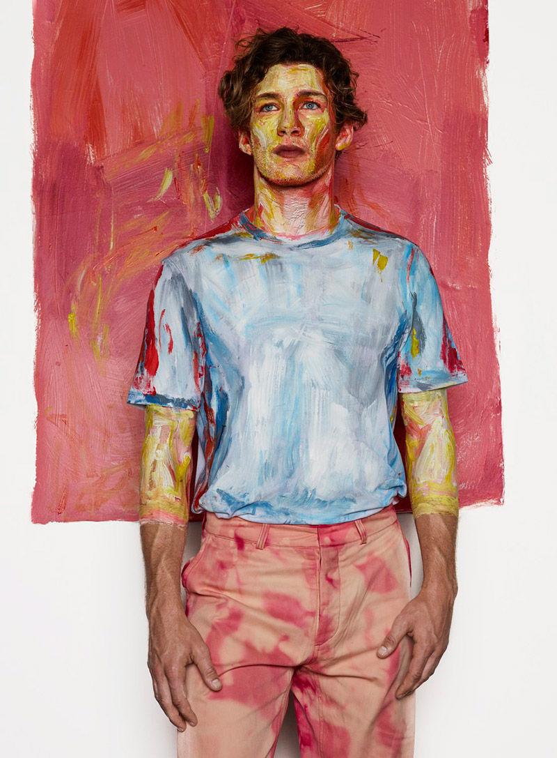 Painterly Model Portraits