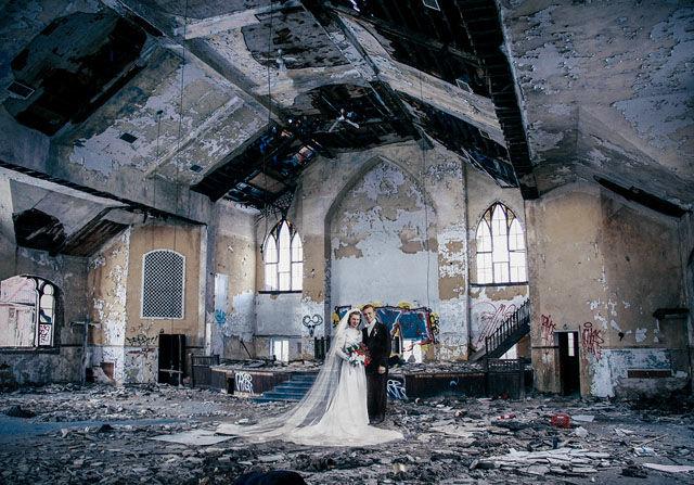 Timelapse Detroit Collages