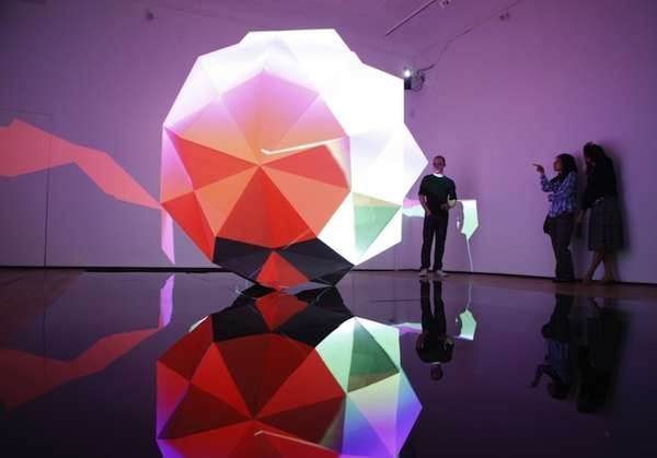 Hypnotic Light Installations