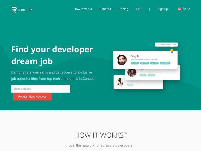 Dedicated Developer Recruitment Networks