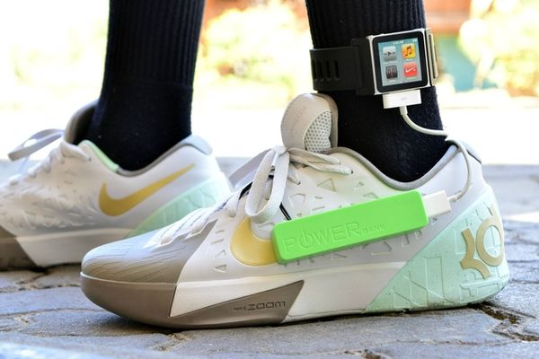 DIY Sneaker Device Chargers