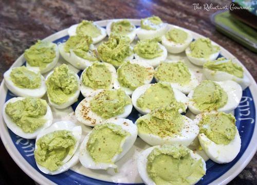 Avocado Egg Appetizers