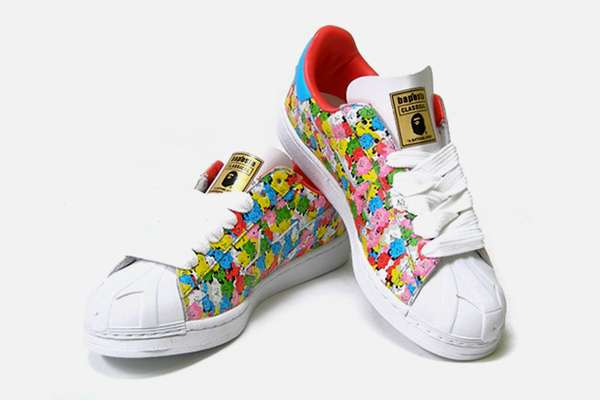 Colorful Skull Kicks