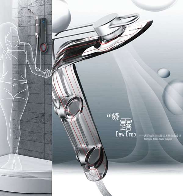 Dew Drop Gel Shower System