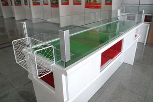 Magnetic Foosball Tables