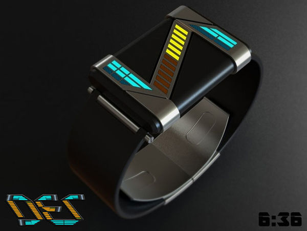 Avant-Garde Abstracted Watches