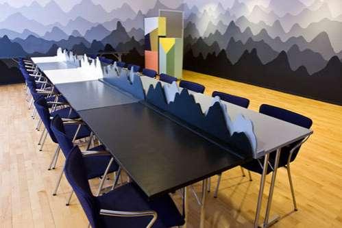 Mountainous Meeting Rooms