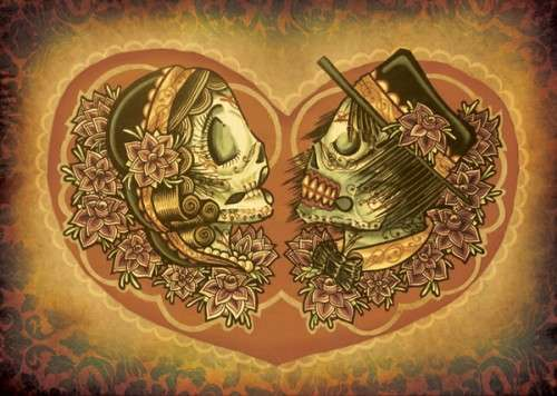 Mexican Skull Weddings