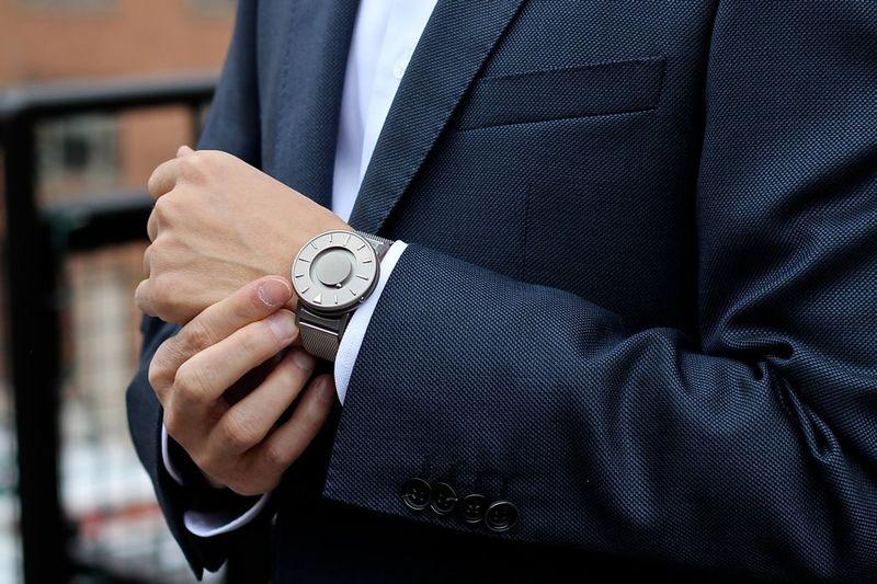 Tactile Dial Timepieces