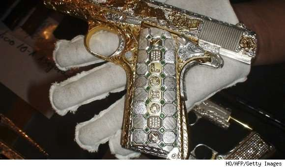 Diamond and Gold Guns