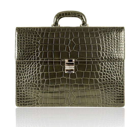 $47,000 Alligator Briefcases