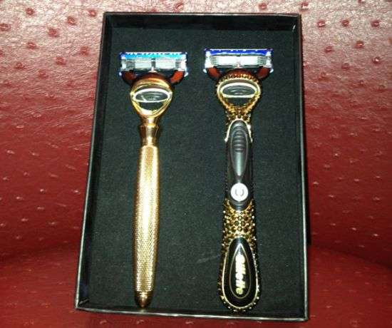 Diamond Encrusted Razors