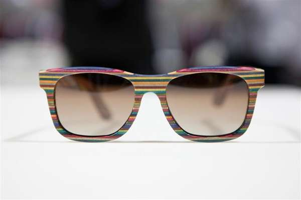 Diamond Supply Co. Recycled Skateboard Sunglasses