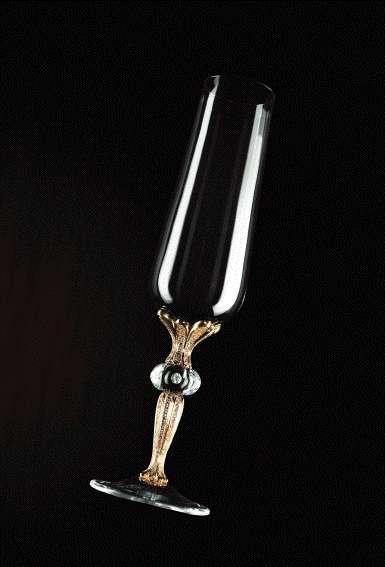 $96,000 Champagne Flute
