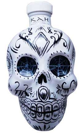 Decorated Skull Booze