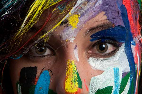 Tribal Paint Photography