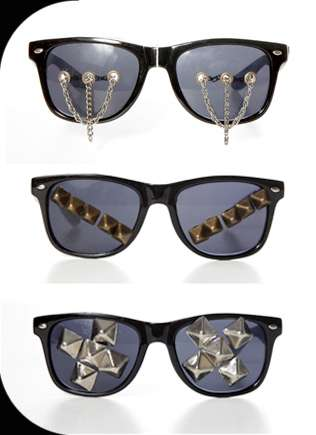 Studded Glam Rock Shades