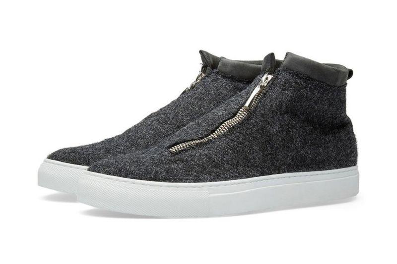 Slip-On Tweed Footwear