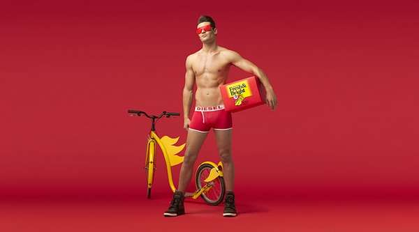 Superhero Underwear Ads