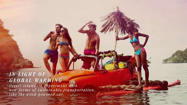 Stranded Island Ads