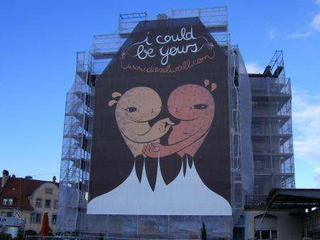 Giant Urban Artvertising Contest