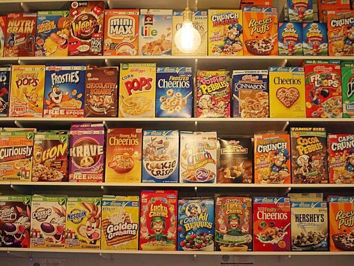 Hip Cereal Cafes