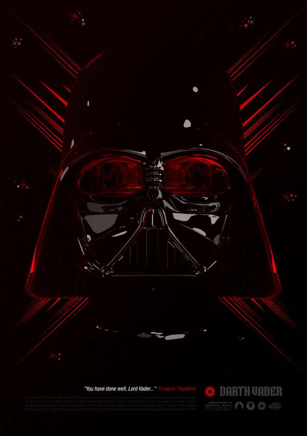 Digimental Star Wars Posters