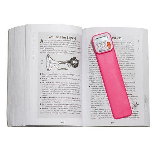 Reader-Tracking Bookmarks