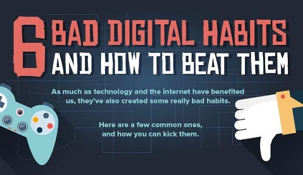 Bad Digital Habits Charts
