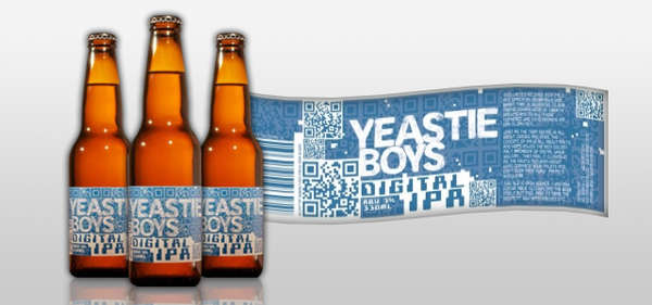 Scannable Beer Labels