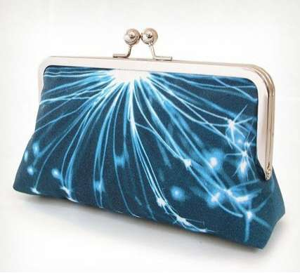 Digital Photo Clutch Purses