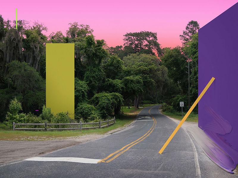 Cyber-Real Landscape Art