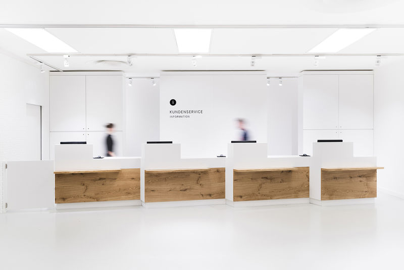 Futuristic Service Counters